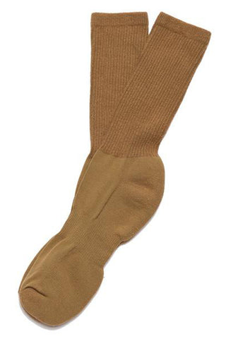 MIL-SPEC SPORT SOCKS WITH SILVER - COYOTE
