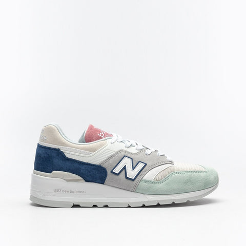 997 MADE IN THE USA - GREY / MINT / PINK