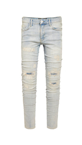 REPAIRER DENIM - PALE BLUE