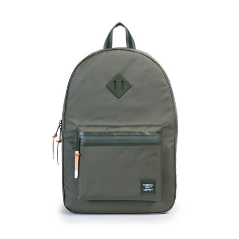 RUSKIN BACKPACK - DEEP LICHEN GREEN POLY