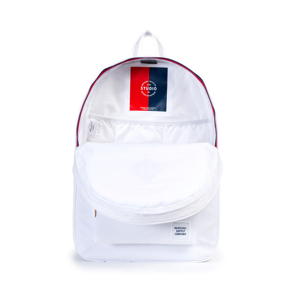 RUSKIN BACKPACK - WHITE POLY