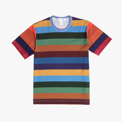 STRIPED TEE - MULTI