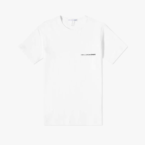 CHEST LOGO TEE - WHITE
