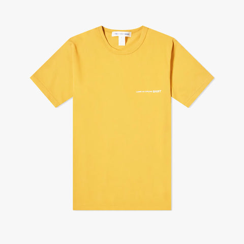 COLOR CHEST LOGO TEE - YELLOW