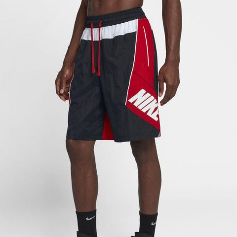 THROWBACK BASKETBALL SHORTS - BLACK