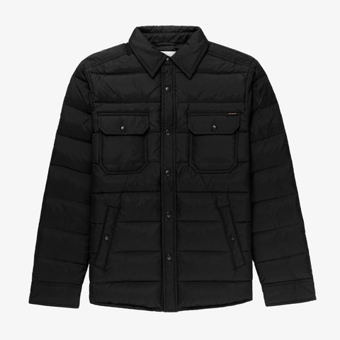FILLED OVERSHIRT - BLACK