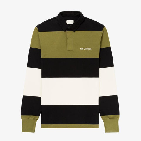 CLASSIC RUGBY - CREAM / BLACK / OLIVE