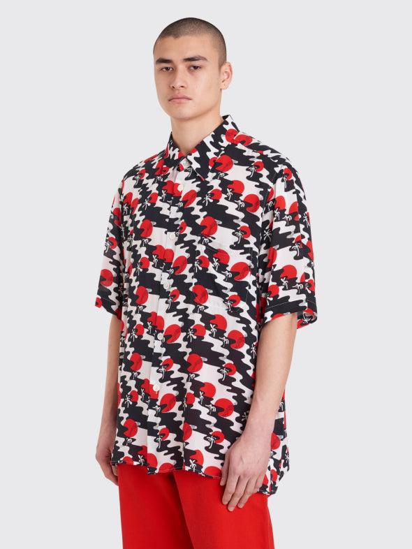 TOURIST SHIRT VISCOSE - SUNSET