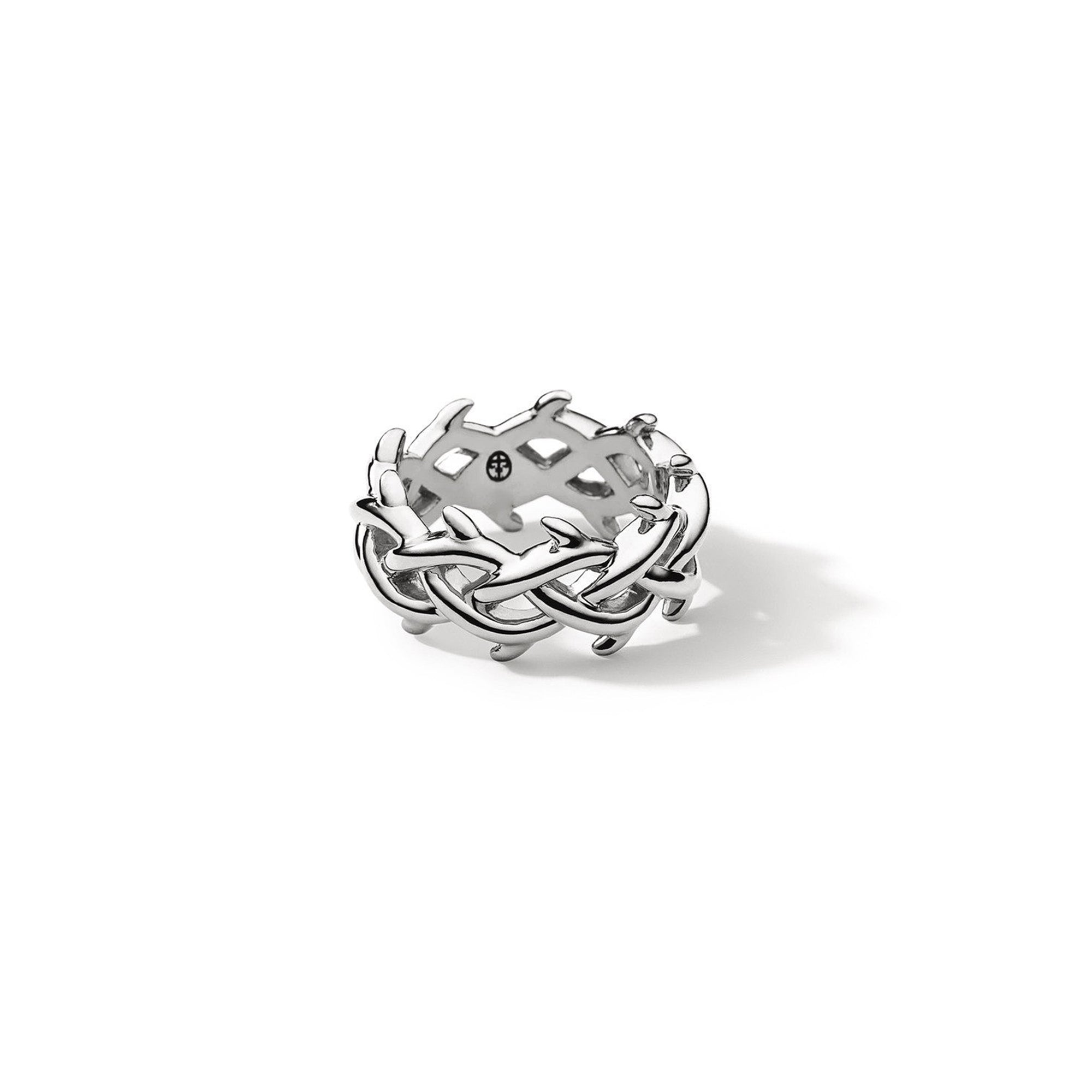 LAPSTONE X THORN 7MM CROWN RING - SILVER