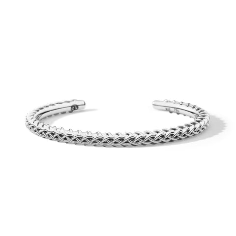 LAPSTONE x THORN 7MM CROWN TUBE CUFF - SILVER