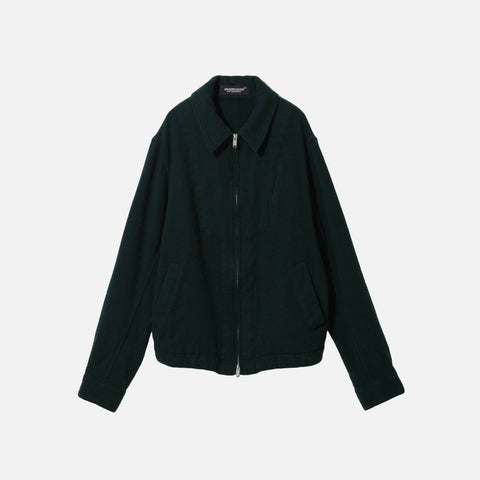 WOOL JACKET - GREEN