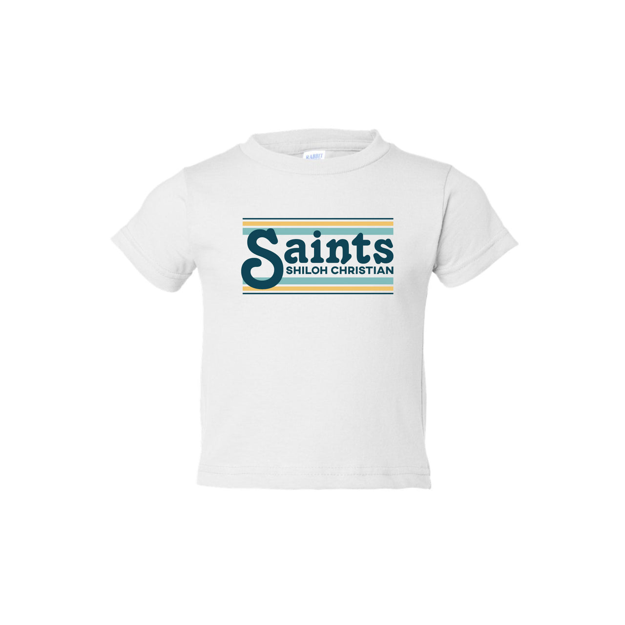 Infant Retro Saints Stripe Tee