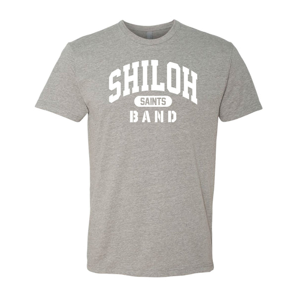 Athletic Grey Band Tee