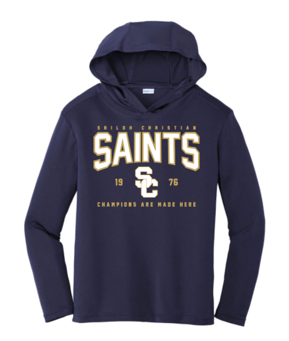 Youth Dri-Fit Saints SC Hooded Pullover