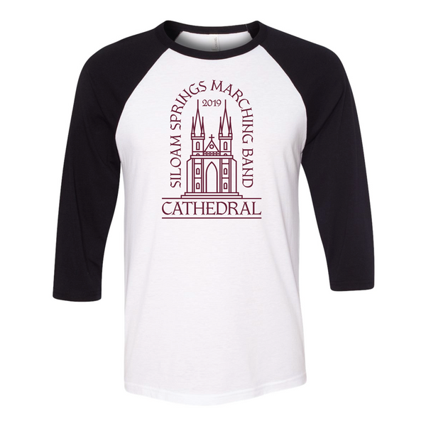 "2019 ""Cathedral"" Band Theme Baseball Tee"