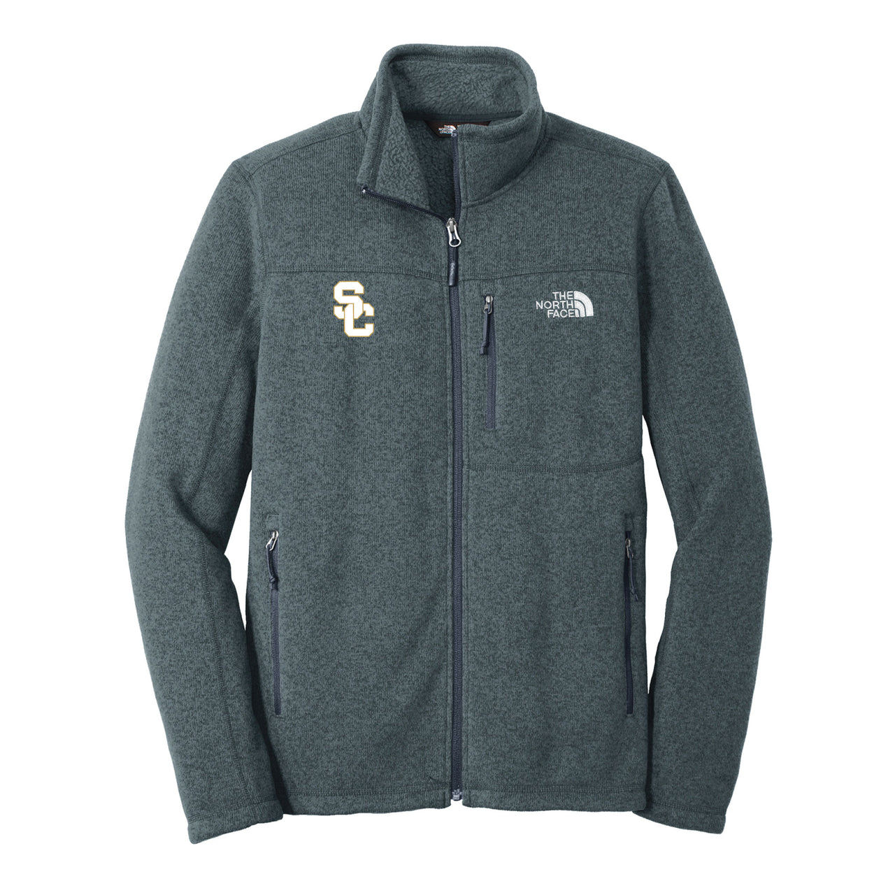 The North Face Mens Sweater Fleece Jacket