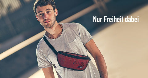 "Feuerwear ""Gürteltasche Otis"" real upcycling/ Handmade in Germany"