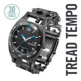 "NEU! LEATHERMAN ""Tread Tempo - Uhr und Multitool Armband"" Made in USA"