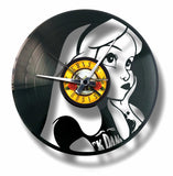 "DISCO`clock "" Wanduhren aus Schallplatten"" real upcycling"