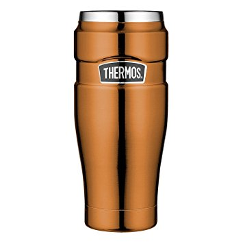 "NEU! THERMOS ""Isolier-Trinkbecher STAINLESS KING 470ml"" fair trade/ 100% Nachhaltig"