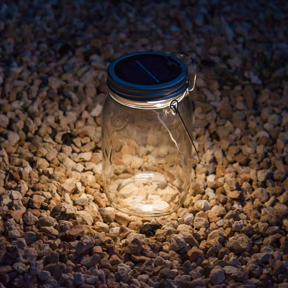 "SONNENGLAS ""SOLAR JAR"" Fairtrade"