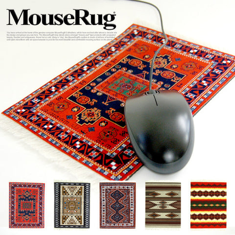 "Mouserug - the original ""Mouse Pad"""