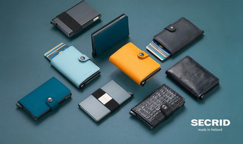 "SECRID ""Miniwallet"" Made in Holland"
