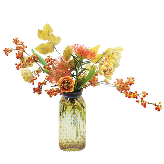 Amber Fall Vase Arrangement