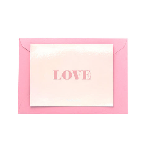 Love Card Gift Card (Holographic)