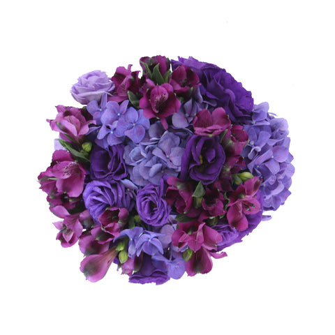 Purple Noir Flower Vase