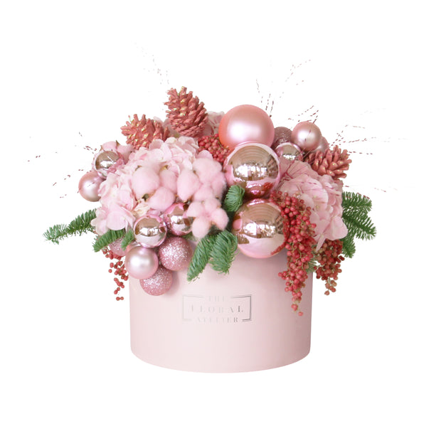 Pink Bauble Bloom Box
