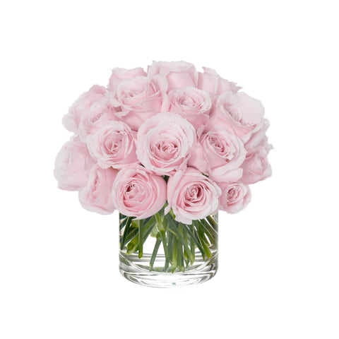 Singapore online flower vase delivery the floral atelier the modern pink flower vase mightylinksfo