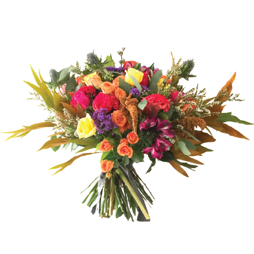 Artist Romantic Flower Bouquet