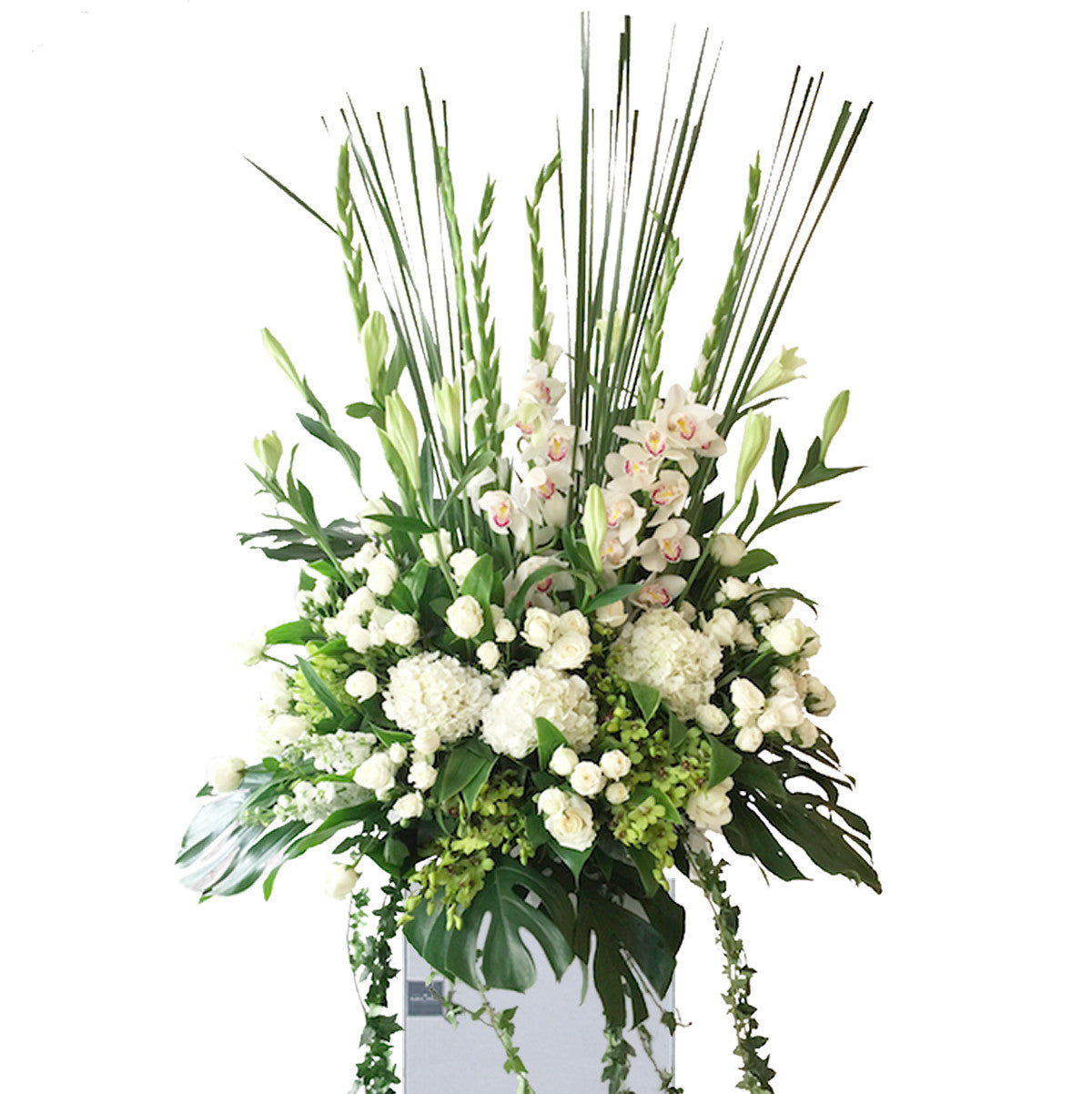 Condolence Flower Stand - The Floral Atelier | The Floral Atelier