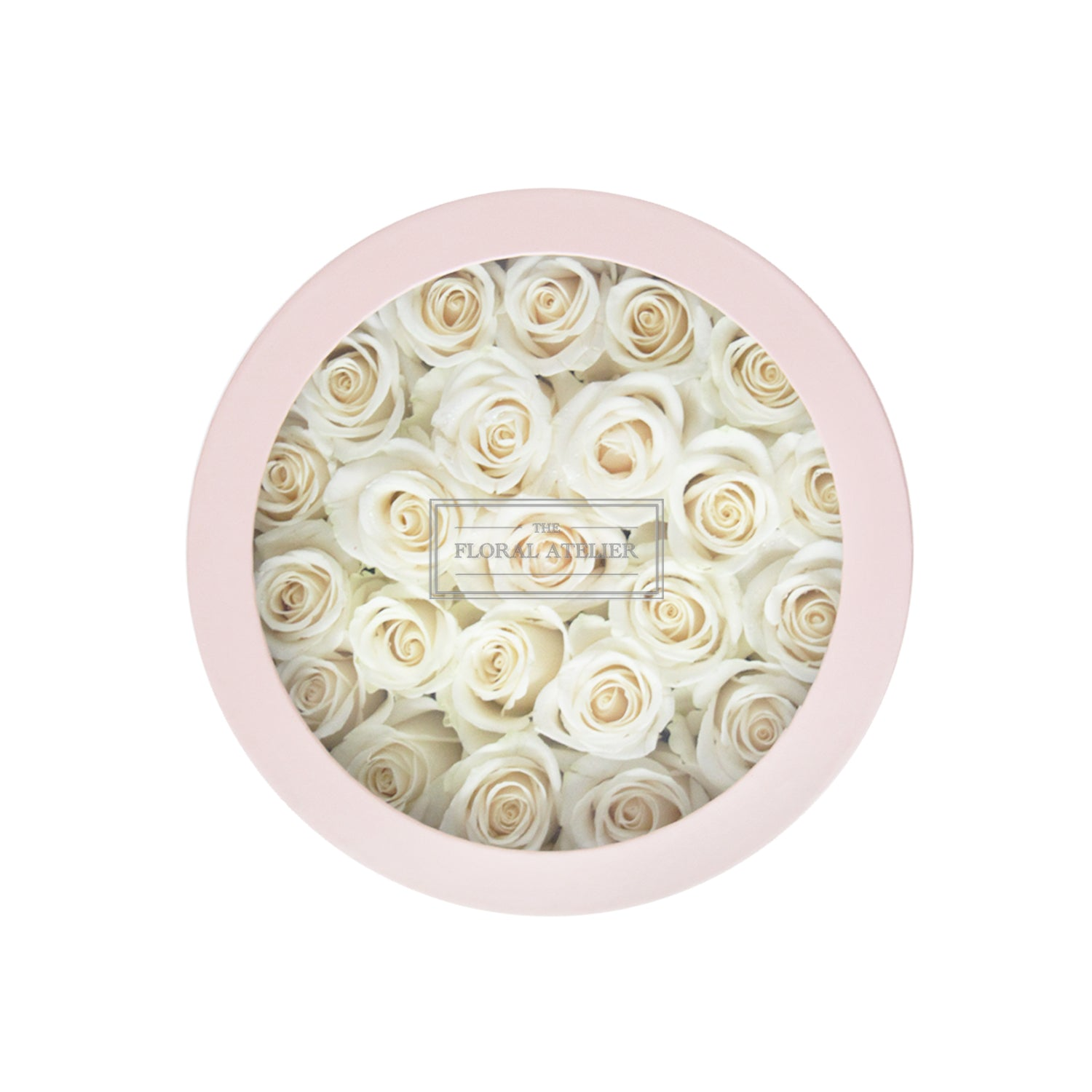 Ivory Valentine Bloom-in-a-Box