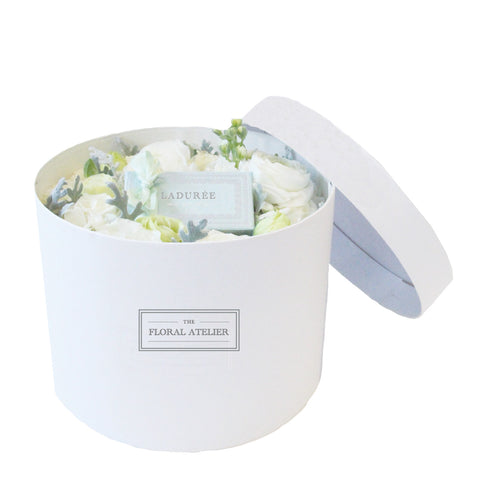 Ladurée White Bloom-in-a-Box
