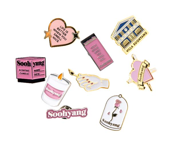 Soohyang Heart Pin Badge