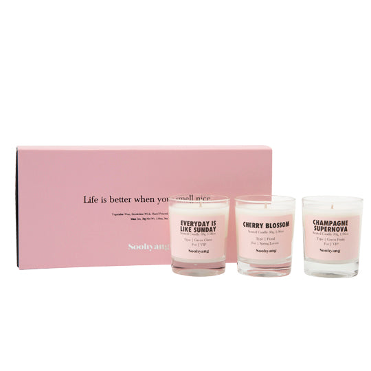 Soohyang Candle 30g Set