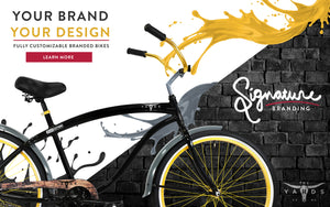 Your Brand, Your Design | Fully Customizable Branded Bikes | Explore Signature Branding