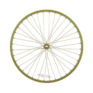 Powder Coated Army Green Wheel