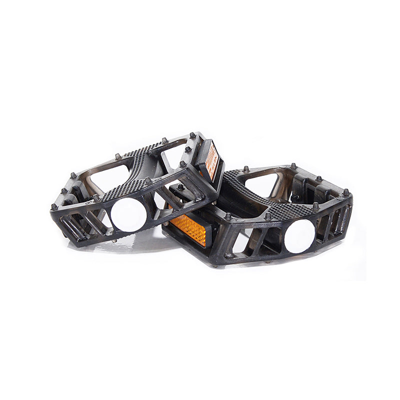 Smoke Classic Bow PC Pedals - Boron Spindle & Ball Bearing with Reflector