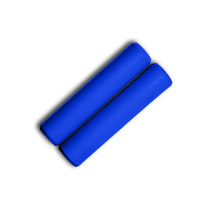 Blue Silicone Grips - Villy Custom - Made in the USA