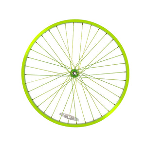 Electric Lime Green Wheel