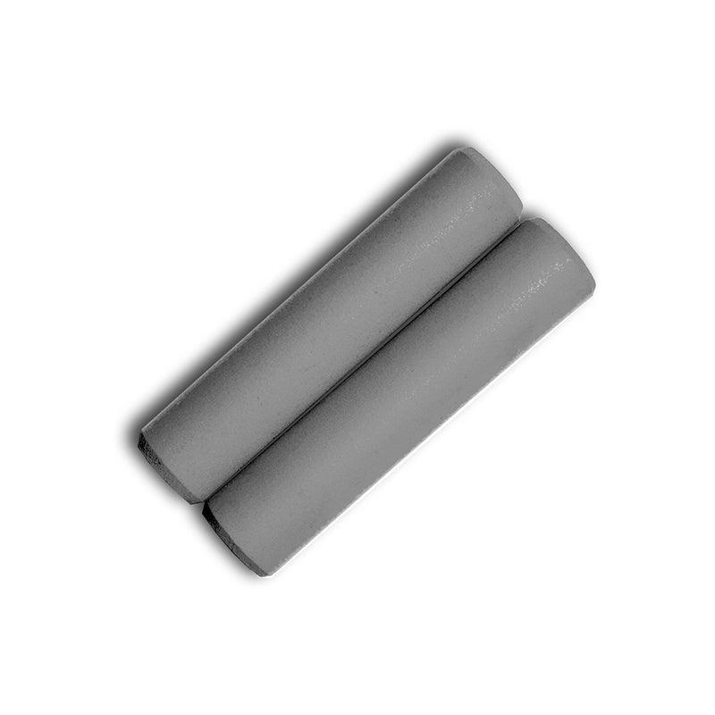 Grey Silicone Grips - Villy Custom - Made in the USA