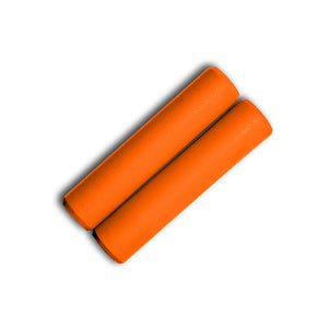 Orange Silicone Grips - Villy Custom - Made in the USA