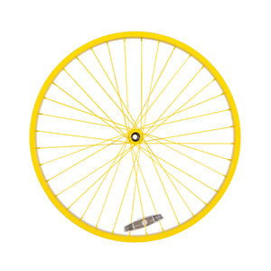 Powder Coated Sunflower Yellow Wheel