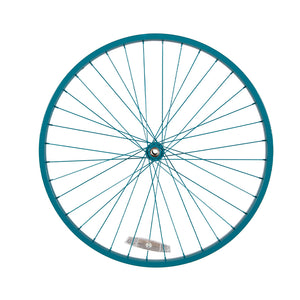 Powder Coated Teal Blue-Green Wheel