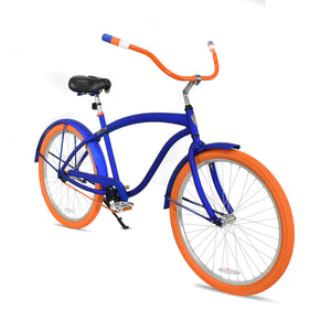 Troy | Royal Blue & Orange Curated Cruiser