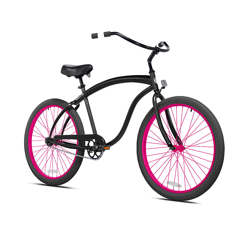Powder Coated Magenta Pink Wheel