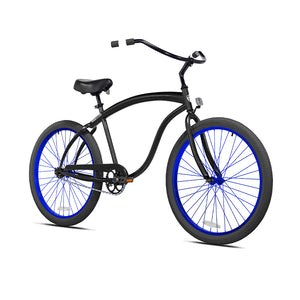 Black Cruiser with Midnight Blue Wheels
